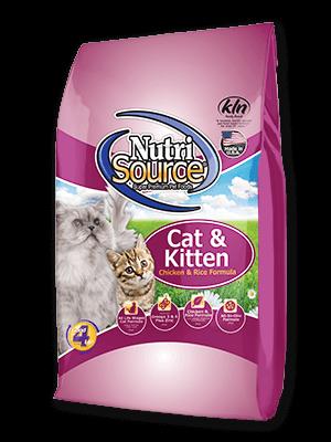 Cat Kitten Chicken And Rice Cat Food Nutrisource Pet Foods