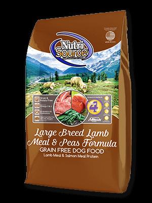 Grain Free Dry Dog Food Nutrisource Pet Foods